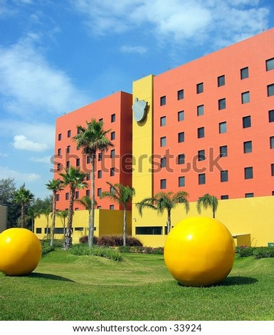 Edifício em Guadalajara, México - stock photo