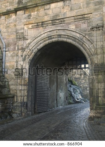 Edinburgh Castle Entrance Gate