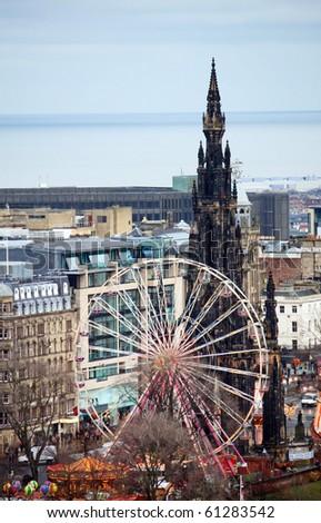 Edinburgh. Ferris Wheel