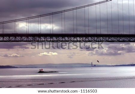 Edinburgh Forth Road Bridge