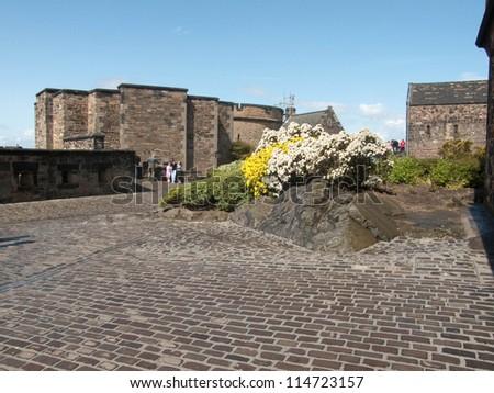 EDINBURGH, SCOTLAND - JULY 30: Edinburgh Castle, Scotland's most visited paid tourist attraction on July 30, 2009 in Edinburgh, Scotland.