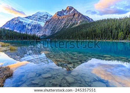 Edith  Cavell Lake, Alberta, Canada #245357551