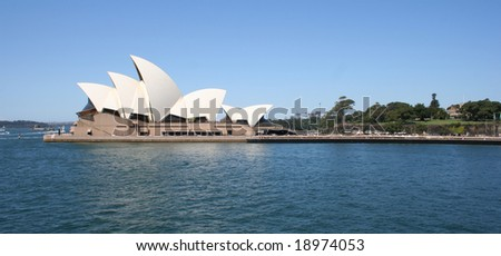 Editorial: Sydney, Australia - October, 2008: Sydney Opera House was inscribed as a UNESCO World Heritage Site on 28 June 2007