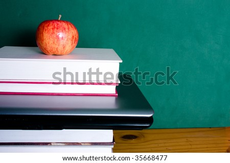 education and technologt - stock photo