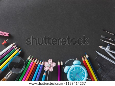 Education, Back to School concept with copy space. - Shutterstock ID 1159414237