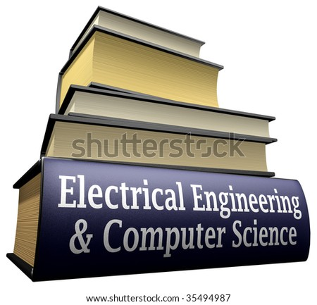 Education Books - Electrical Engineering & Computer Science Stock Photo 35494987 : Shutterstock