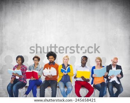 Education College Diverse Diversity Ethnic Ethnicity Team Concept