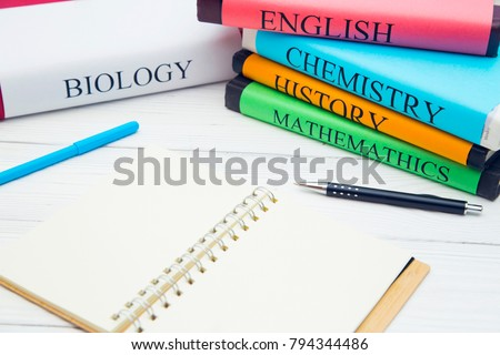 education concept  school books ...