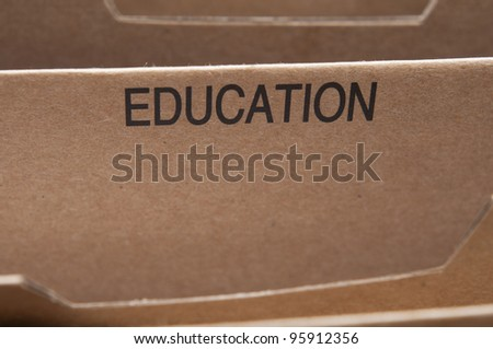 Education documents and certificates filing