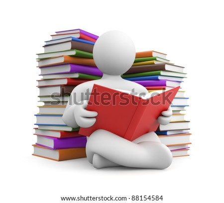 Education metaphor. Image contain clipping path