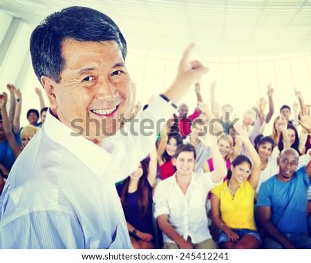 Education School Teacher Learning Professor Seminar Study Concept