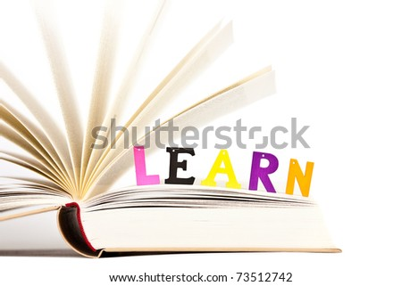 Educational Reading Concept