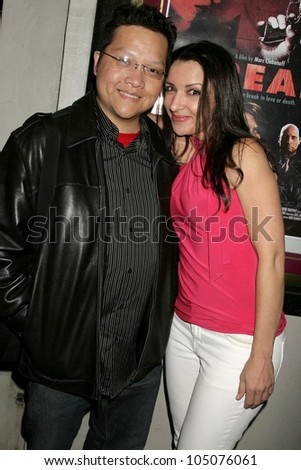 Edwin A. Santos and Anastasia Fontaines at a Special Industry Screening of \'Break\'. Laemmle\'s Music Hall 3, Beverly Hills, CA. 05-01-09