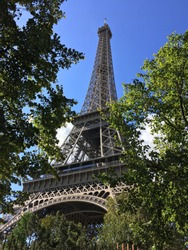 Effiel Tower in Paris France