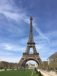 Effiel Tower on a Sunny Day