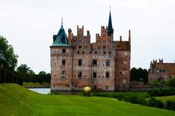 Egeskov Castle in Odense, Denmark