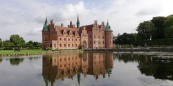 Egeskov Castle near to Odense in Denmark