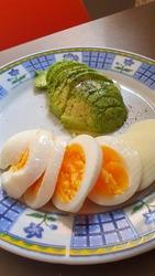 Egg Avocado Breakfast Food Nutriment