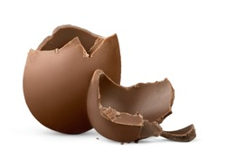 Egg, easter, broken.