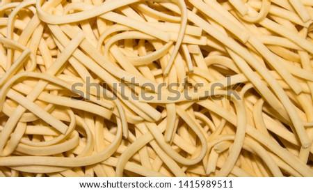 Egg noodles.Instant noodles.Background of instant noodles.