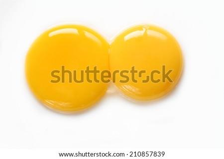 Egg yolk closeup Сток-фото ©