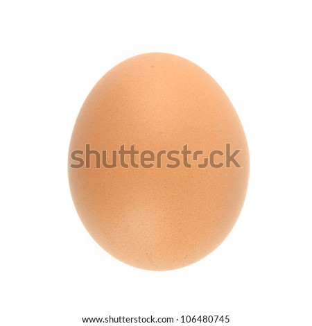 eggs isolated on a white background