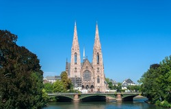 Eglise (church) Saint-Paul in Strasbourg, France