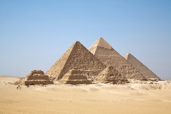 Egypt, the pyramids, Giza region, the oddity of the world