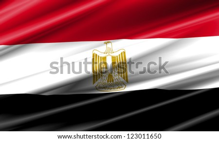 Egypt Waving Flag