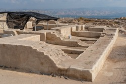 Egyptian Governor's home at Beit She'an National Park in Israel.