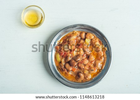 """Egyptian local beans """" Fool Mdames """" in Local setup"""