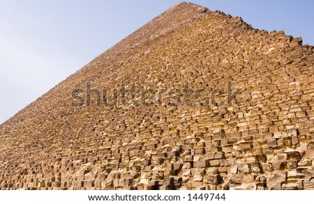 stock photo : Egyptian Pyramids Location: Giza, Egypt