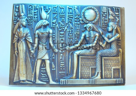 Egyptian Tablets, Ancient Symbols, Historical Sphinxes
