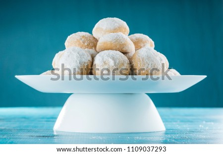 Eid Al-Fitr Cookies, Muslim Lesser Holiday Breakfast Snacks