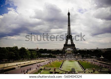 Eiffel tower #560404324