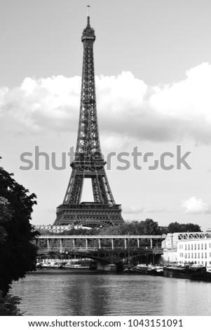 Shutterstock Eiffel Tower and Sena River