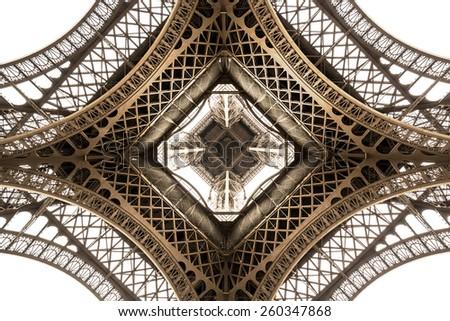 eiffel tower architecture...