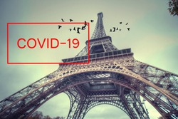 Eiffel Tower Closed Due to Oronavirus Infection (COVID-19)
