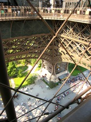 Eiffel Tower Detail (Paris, France)