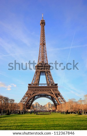 eiffel tower in Paris France