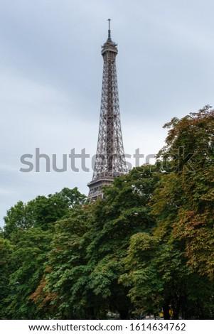 Eiffel Tower in Paris, France. Best Destinations in Europe.