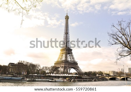 eiffel tower is an one of...