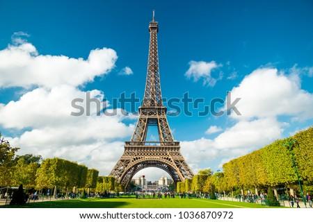Eiffel Tower Paris #1036870972