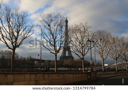 Eiffel Tower, Paris #1314799784