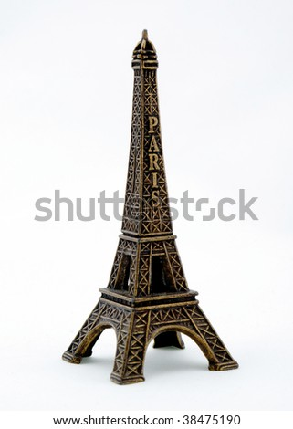Eiffel Tower. Souvenir from Paris