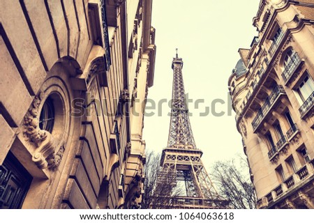eiffel tower view from cozy...