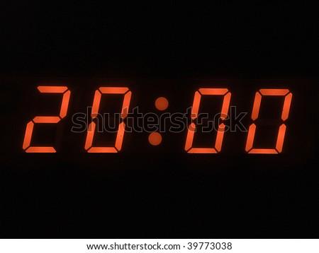 eight o clock pm