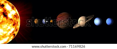 eight planet solar system