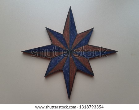 eight-pointed star, biblical star #1318793354