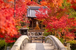 Eikando or Eikan-do Zenrinji shrine Famous place to see fall leaf with beautiful garden in Kyoto, Japan.